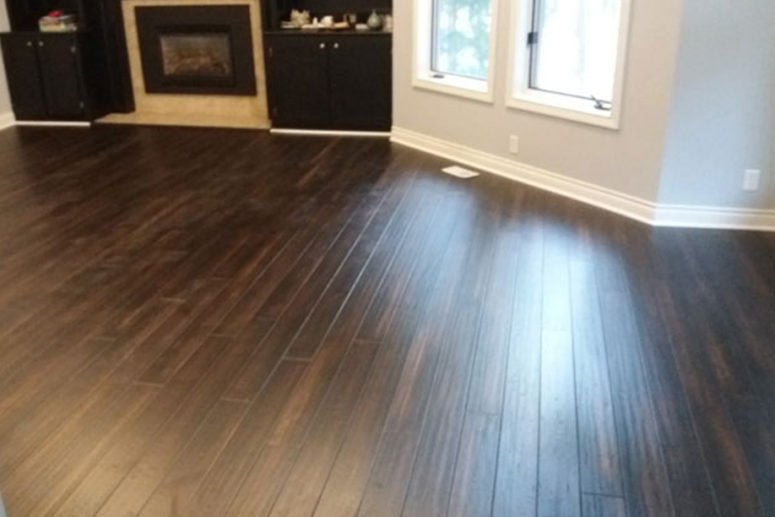 residential wood floor - image